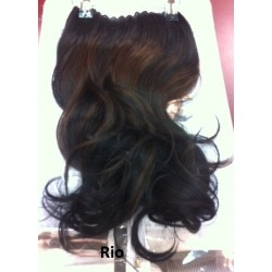 Flip-in hairdress 45 cm memory hair kleur Rio